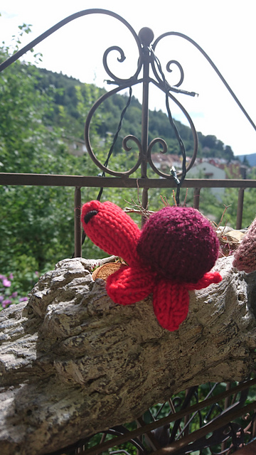 Mini-turtle knitting pattern