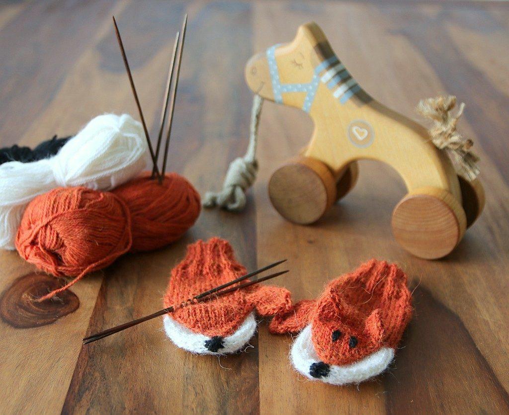 fox gloves pattern
