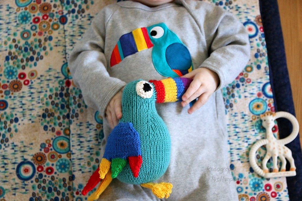 Toucan knitting pattern