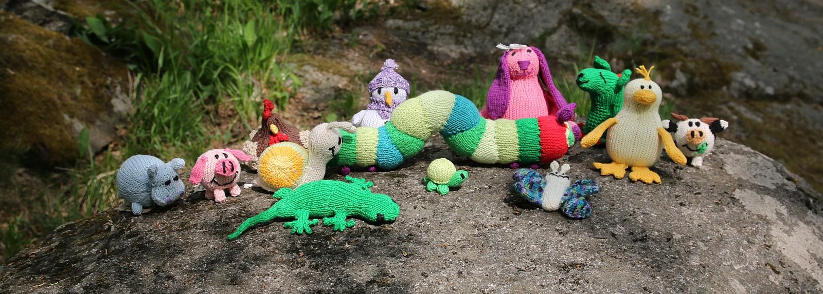 toys knitting patterns