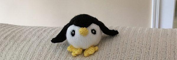 Patty the Penguin knitting patternn