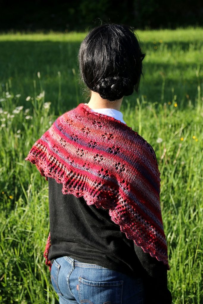 In Bloom Shawl