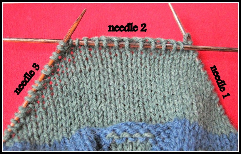 How to knit a Boomerang Heel with German short rows