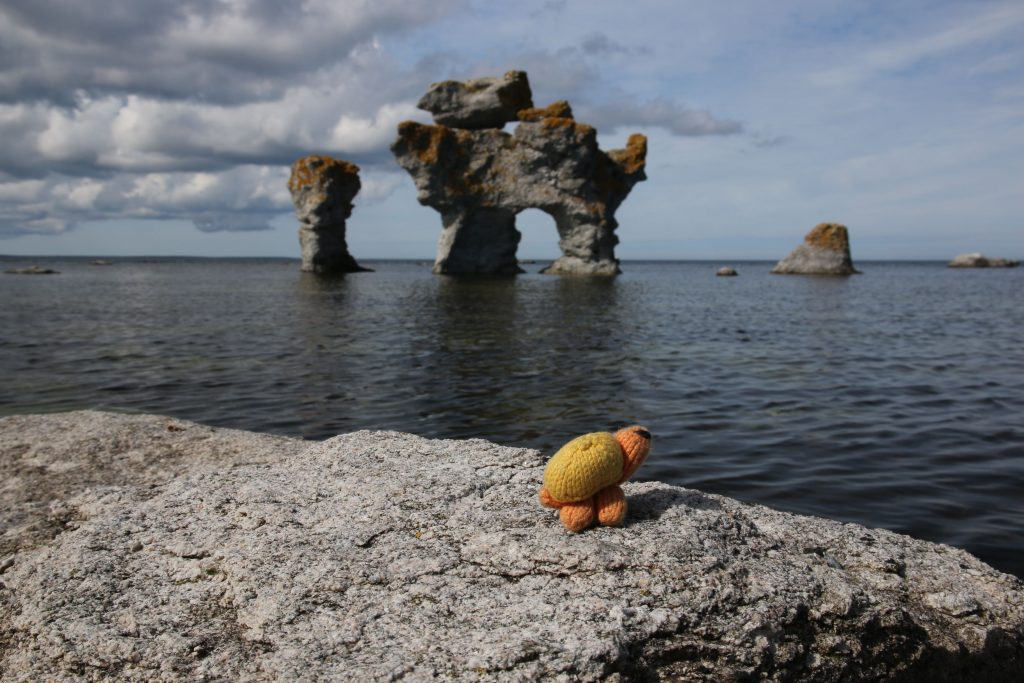 Gotland knitters travel report