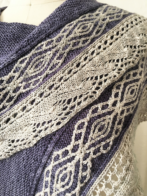 Sand Ripples Shawl by Stephannie Tallent