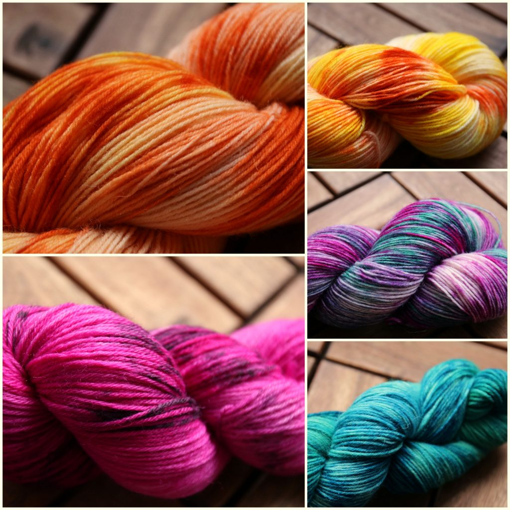 dyeing for yarns