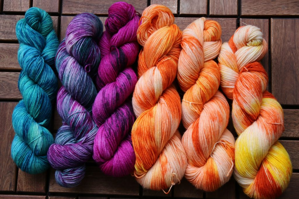 dyed yarns by mumpitz.design