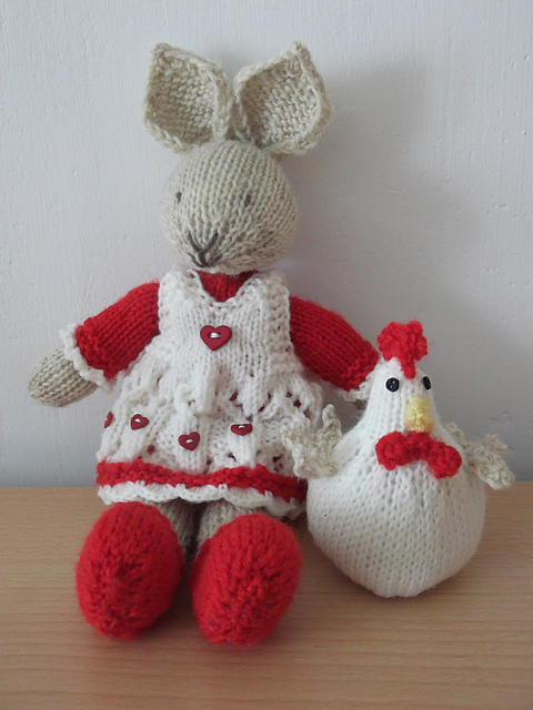 Spring Chicks knitting pattern by Mrsmumpitz on Ravelry