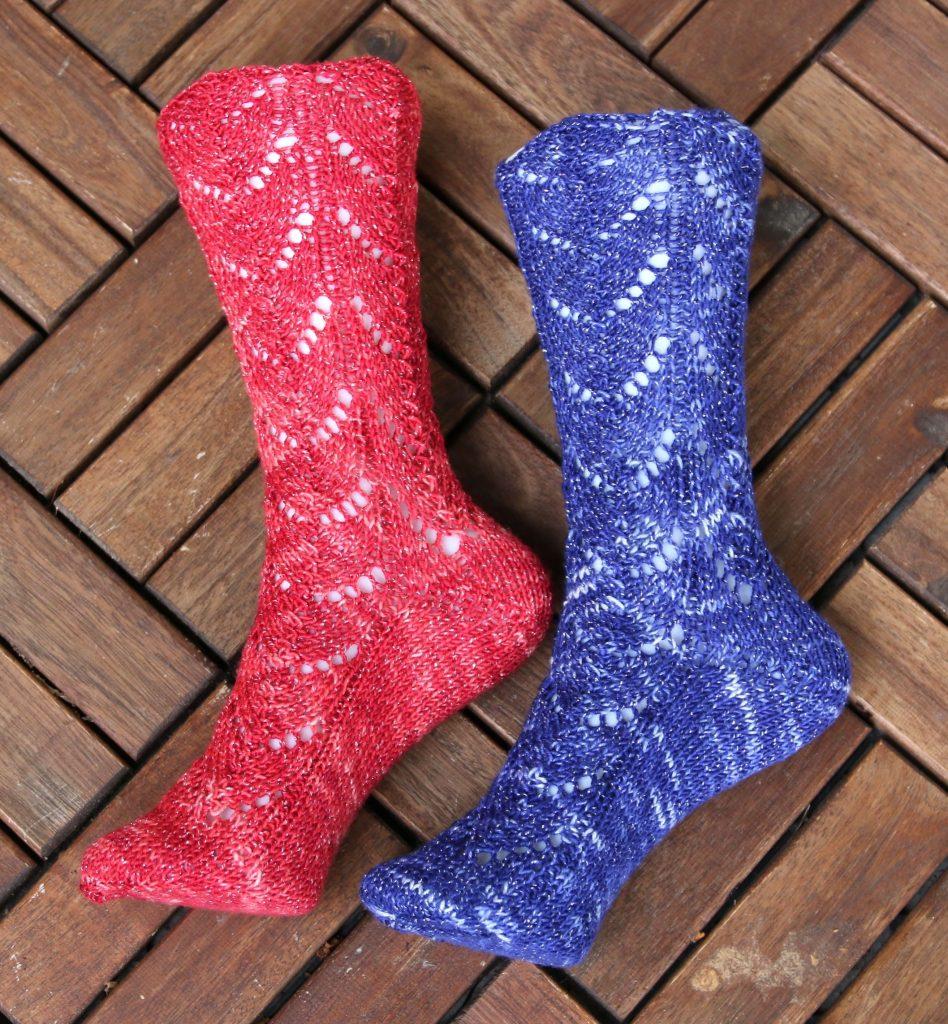 Chase the Dragon Socks knitting pattern