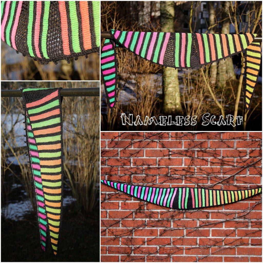 Nameless Scarf knitting pattern