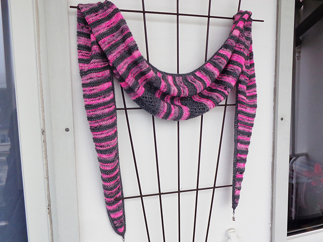 Nameless Scarf knitting pattern