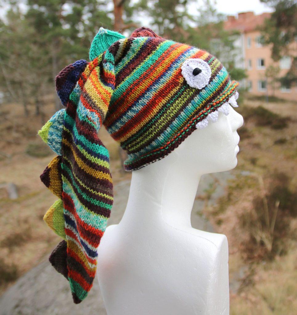 Dragon hat knitting pattern