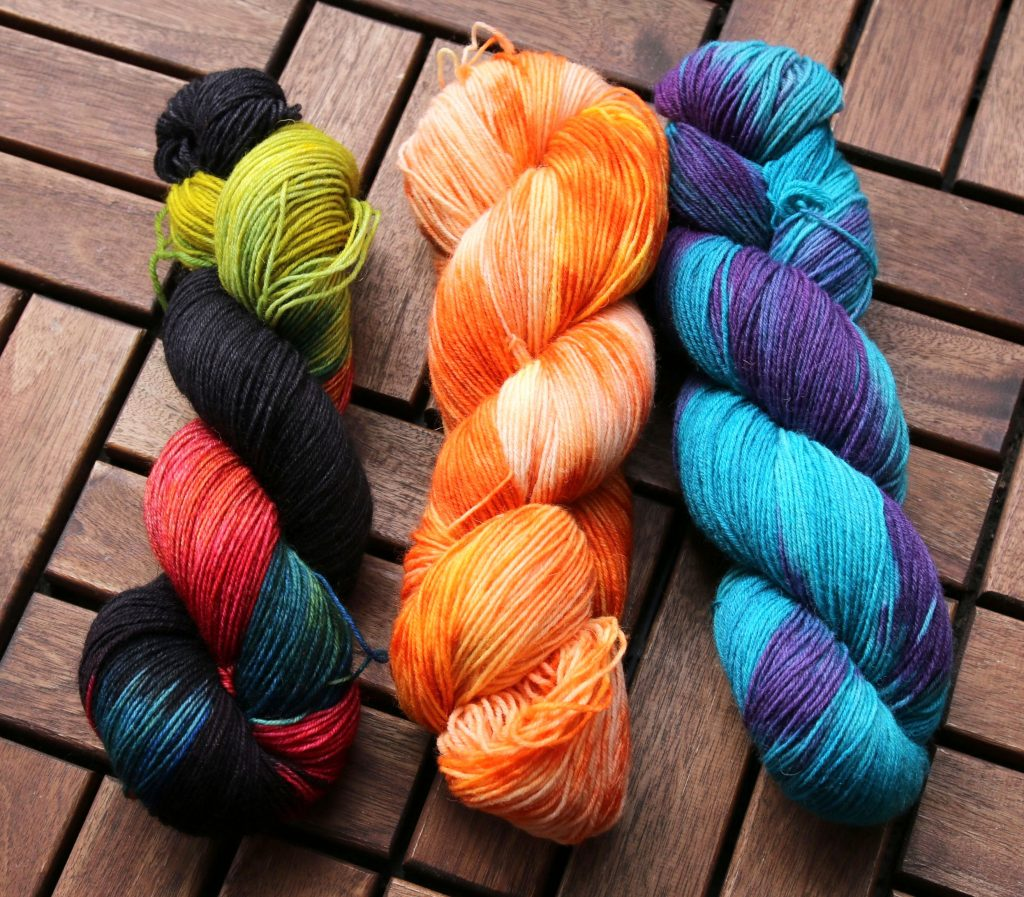 Mumpitz Design hand dyed sock yarn
