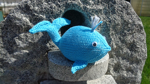 knit a whale knitting pattern