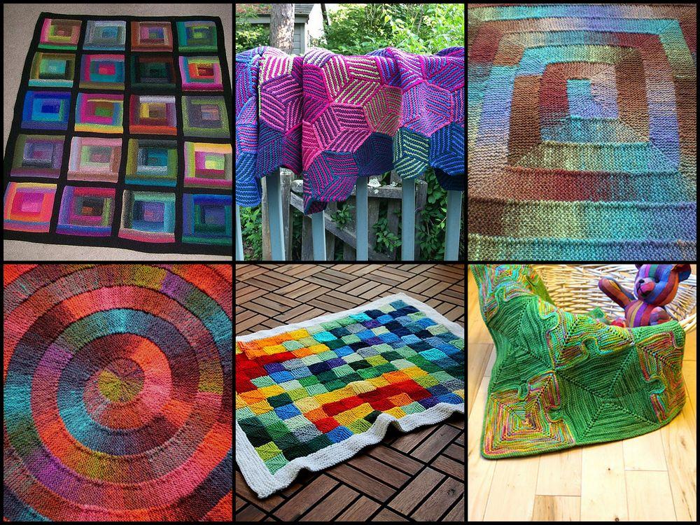 free blanket pattern inspiration for leftovers