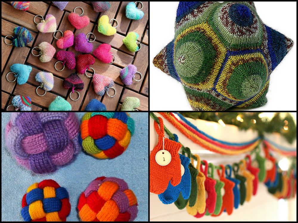 mini-sized leftover project free pattern inspiration