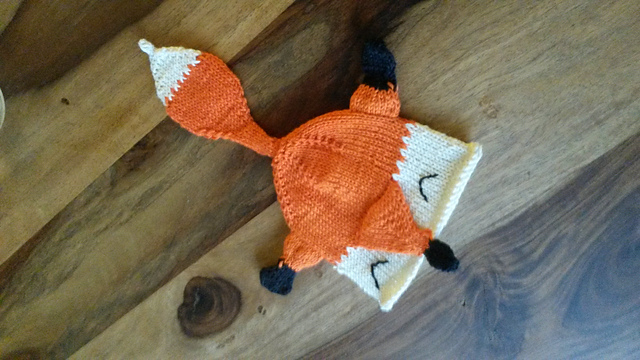 Fox San Pouch by StringAlchemist