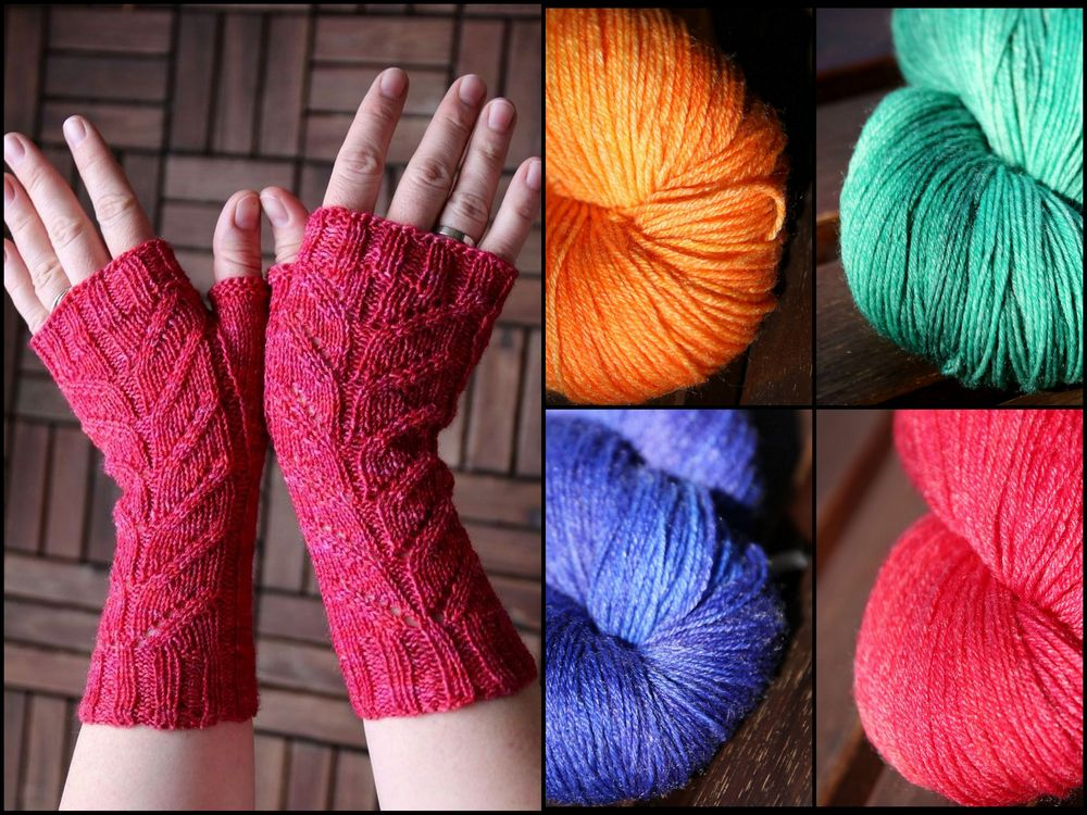 Mumpitz Design Bamboo handdyed yarn