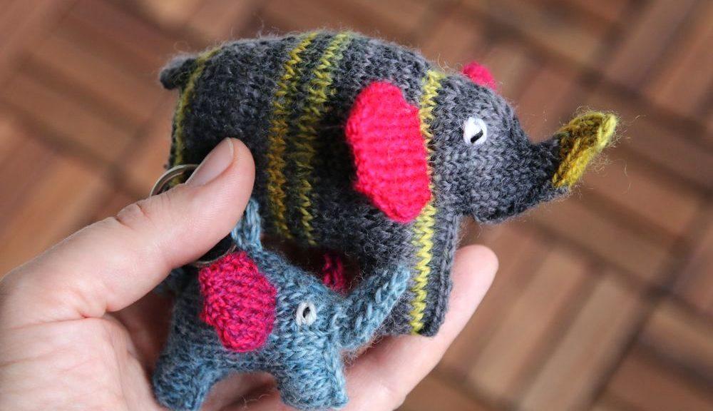 Scrappyphant knitting pattern
