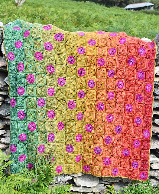 Countisbury Hill Blanket by Amanda Perkins