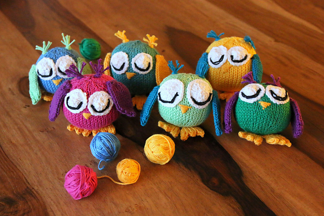 Owl my gosh knitting pattern