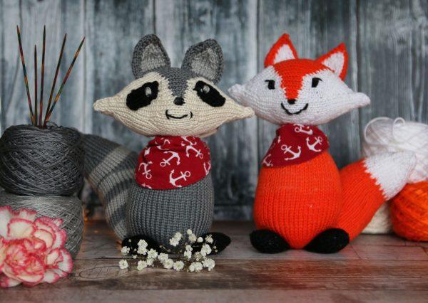 Best Woodland Friends knitting pattern