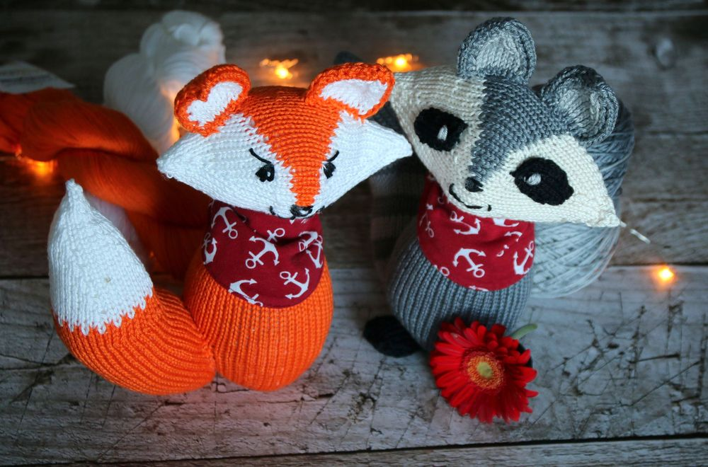 Best Woodland Friends knitting pattern