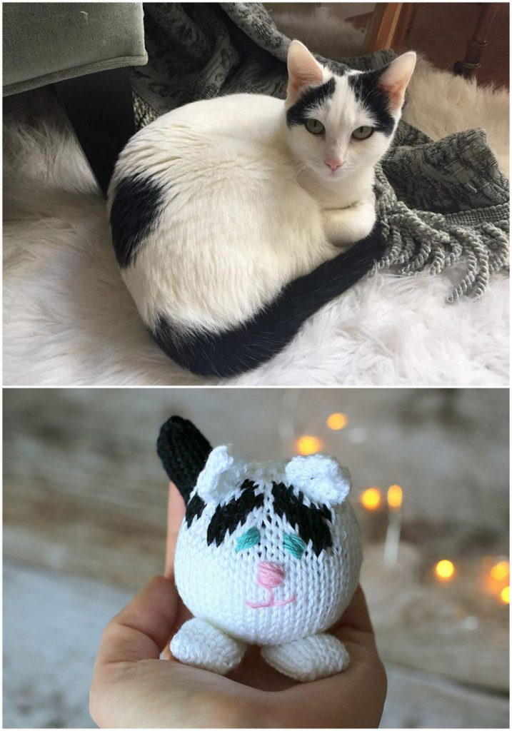 Minimeow knitting pattern