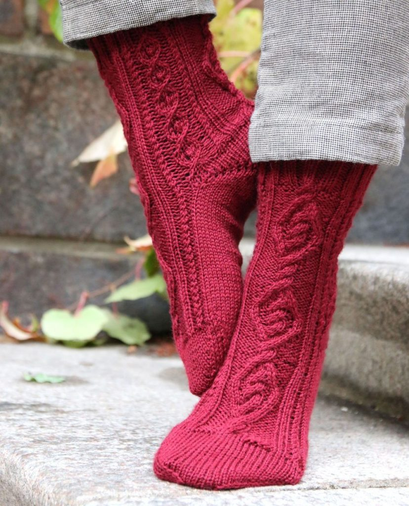 Oden's Socks and mitts knitting patterns