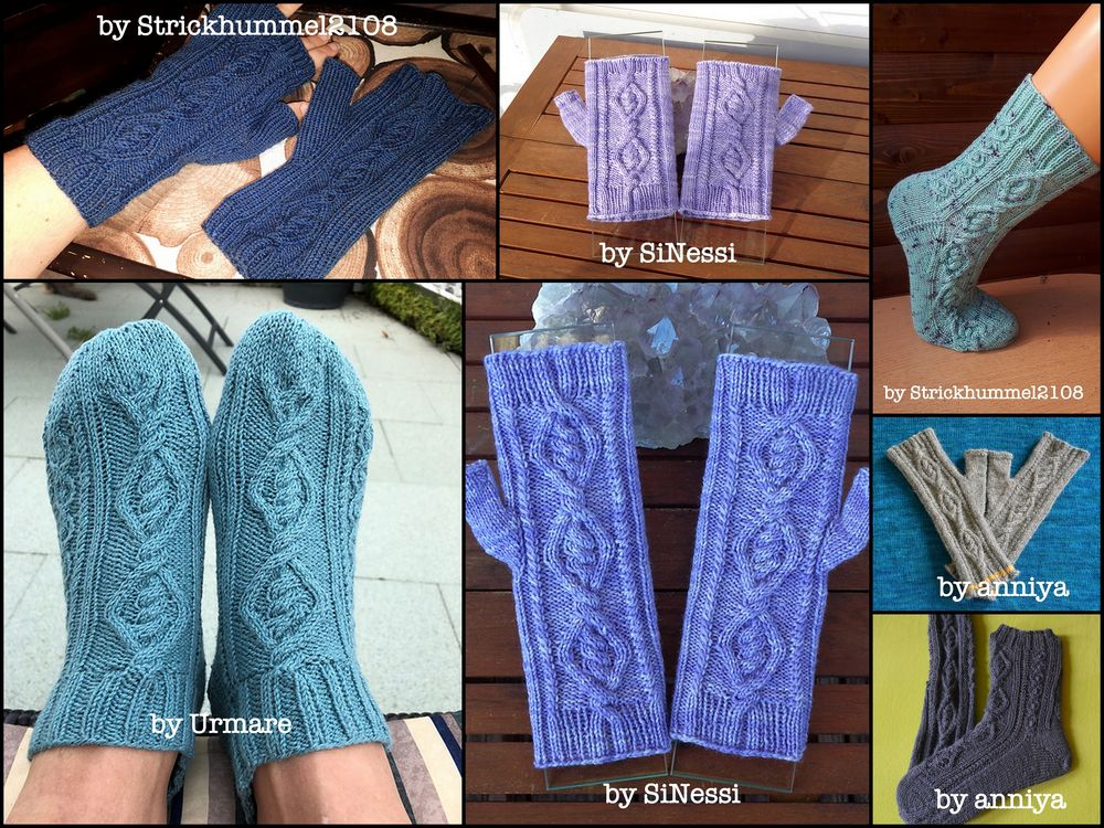 Oden's Socks and Mittens knitting patterns