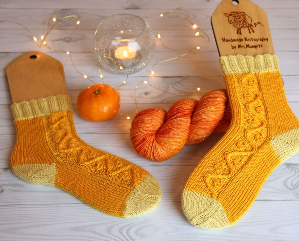 Friggs Socks knitting pattern