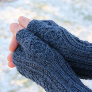 Heimdallr Mitts knitting pattern