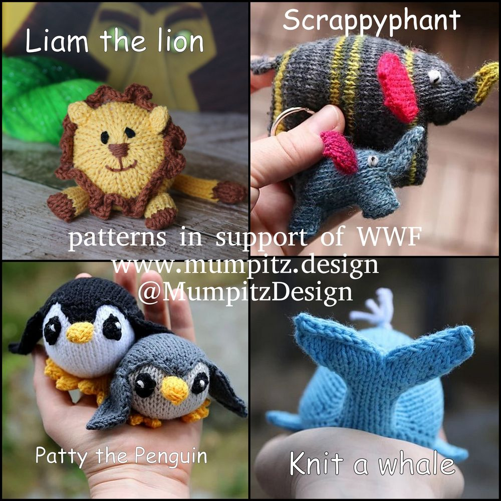 Support WWF knitting patterns