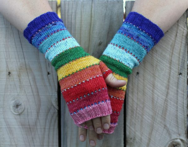 Scrappily ever after mitts