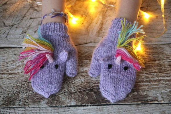 Unicorn Mittens