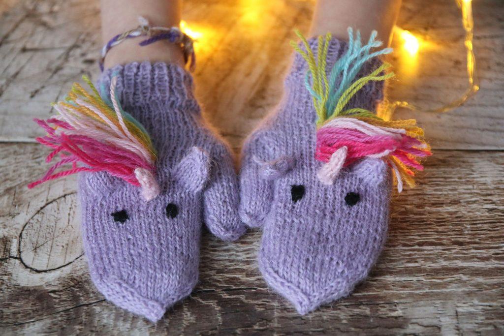 Unicorn Mittens