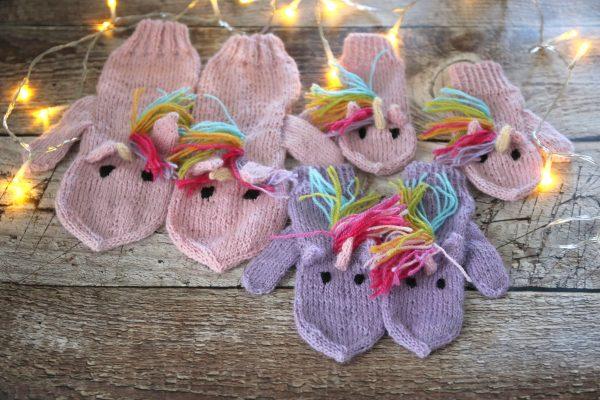 Unicorn Mittens for kids