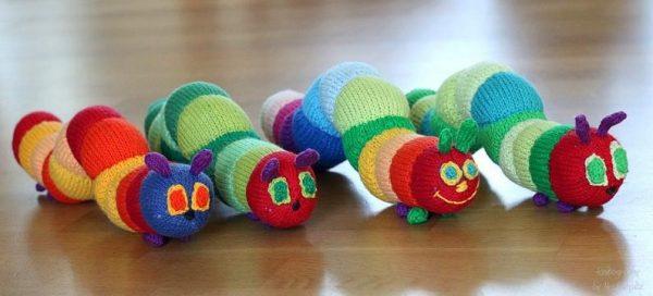 Cuddle me caterpillar knitting pattern