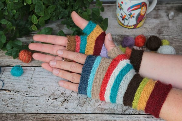 Scrappalicious Mitts
