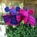 Duncan the Dragon knitting pattern