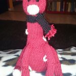 giraffe knitting pattern