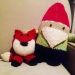 Mr Fox knitting pattern