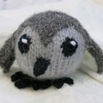 Patty the Penguin knitting pattern for a good cause