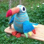 toucan toy knitting pattern