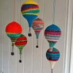 hot air balloon knitting pattern