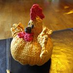 Spring chicks knitting pattern