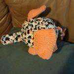 Judy the elephant knitting pattern