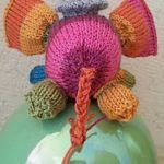 Elephant knitting pattern