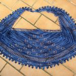 in Bloom Shawl knitting pattern