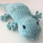 Grab a gecko knitting pattern